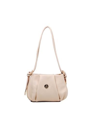 TH Bags Kadın Çapraz Çanta TH-DR071700 Bej